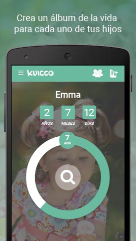 Crea un álbum Kuicco para cada uno de tus hijos