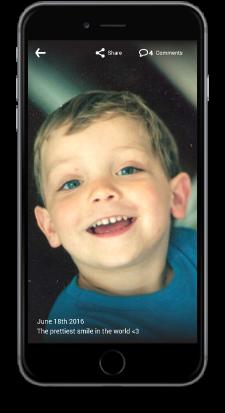 Your children's best photos, always safe