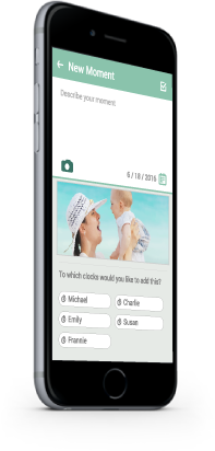 New Kuicco Moment, save your baby's best photes in a safe manner.
