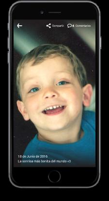 Podrás tener las fotos de tus hijos siempre a salvo
