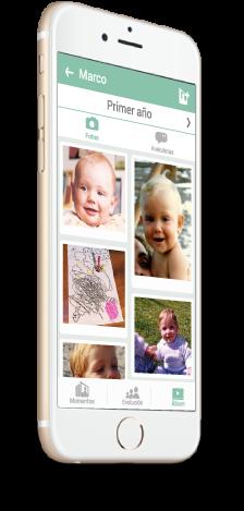 Comparte de forma segura todas las fotos de tus hijos