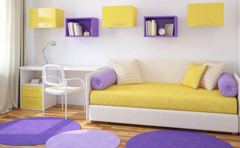 ¿Cómo elegir color para decorar una habitación infantil?